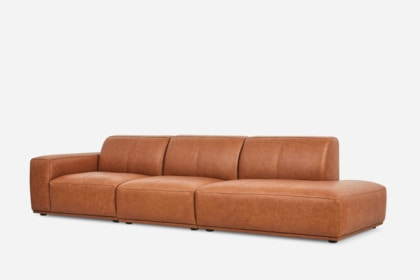 Terrific Todd Side Chaise Extended Sofa Leather Ncnpc Chair Design For Home Ncnpcorg