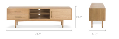 dimension of Chelsea TV Stand