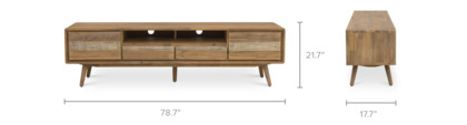 dimension of Spot TV Stand, Long