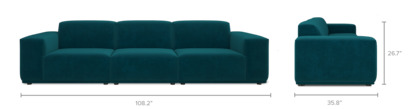 dimension of Todd Extended Sofa