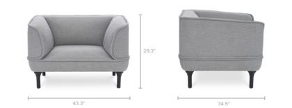 dimension of Bickerton Armchair