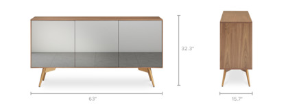 dimension of Nero Sideboard
