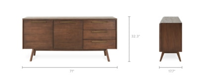 dimension of Vick Sideboard