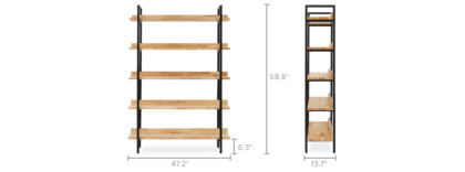 dimension of Albert Shelf, Tall