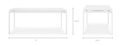 dimension of Arvid Dining Table